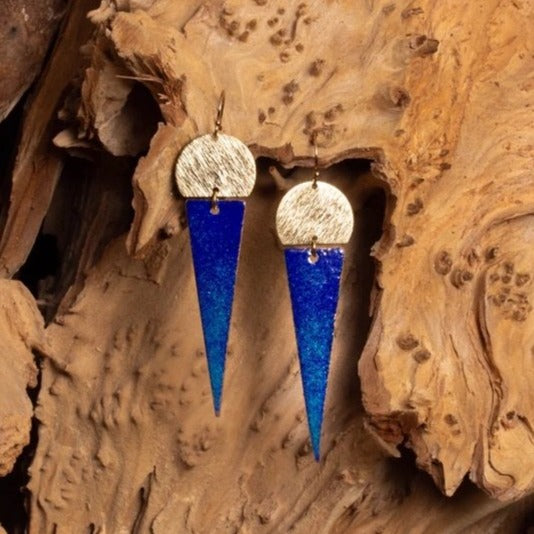 Tenor Earrings - Cobalt