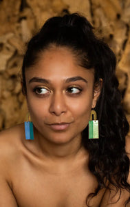 Chime Earrings - Confetti Earth
