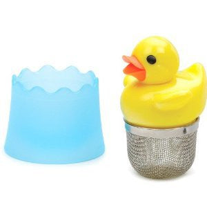 FLOATING RUBBER DUCKY TEA INFUSER - Umami Tea