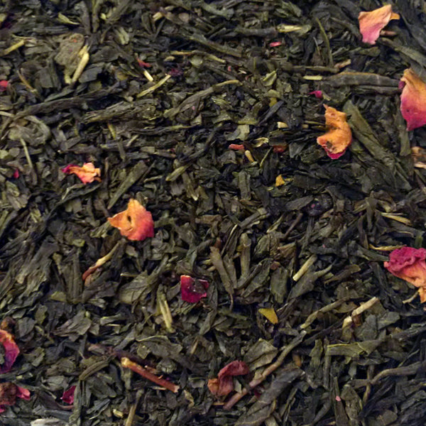 CHERRY ROSE FESTIVAL ORGANIC GREEN TEA
