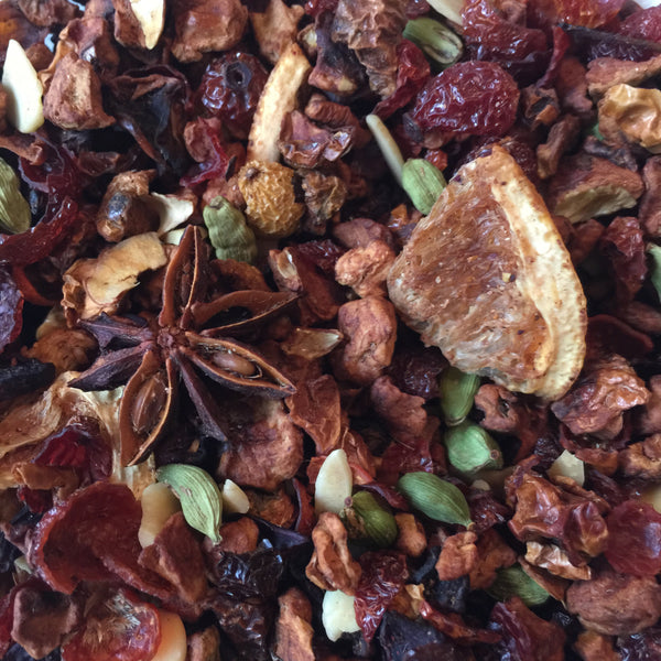 Honey Roasted Almonds Fruit Tea - Umami Tea