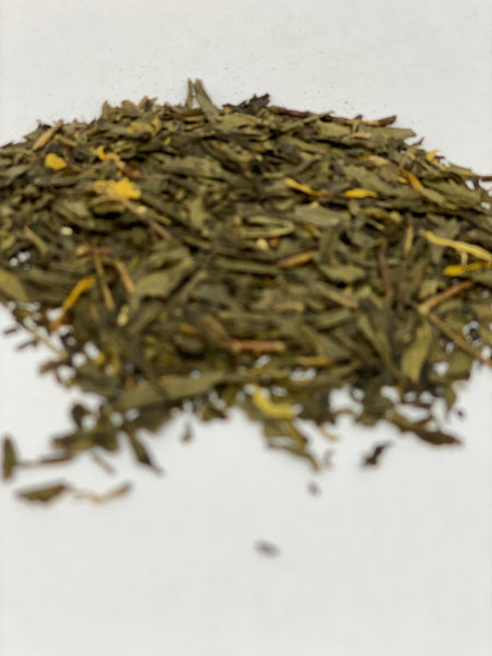 GINGER PEACH BLOSSOMS GREEN TEA - Umami Tea