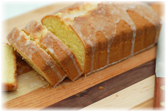 Lemon Pound Cake - Umami Tea