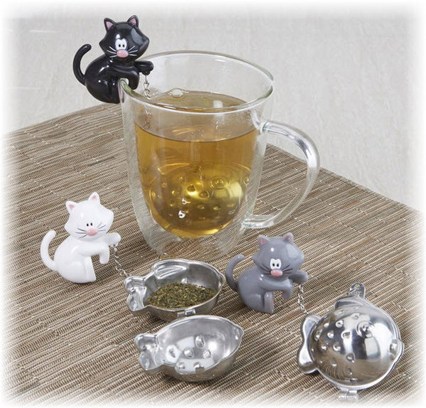 MEOW TEA CUP INFUSER