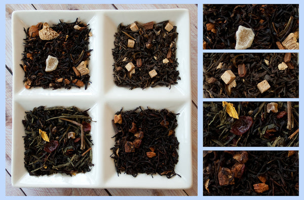 Chocolate, Strawberries & Roses Tea Sampler - Umami Tea
