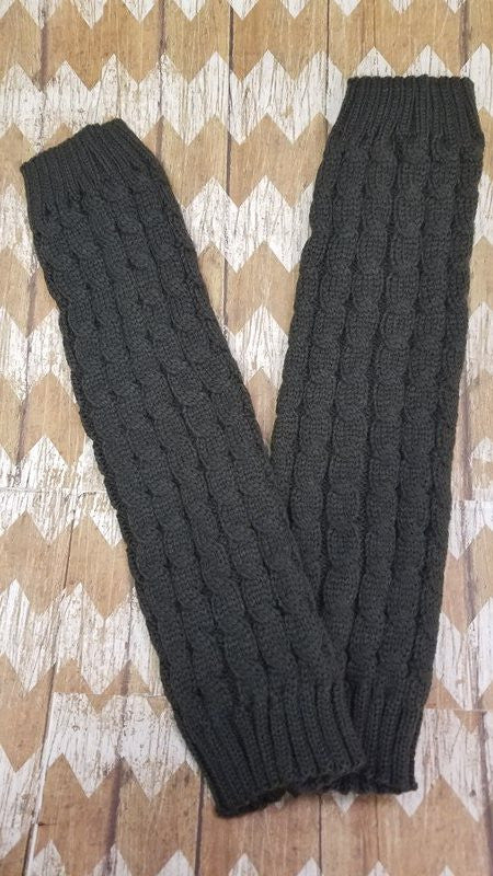 Boot Cuffs - Dark Grey
