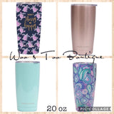 20 oz Tumbler - Simply Southern - 24 hours cold / 8 hours hot