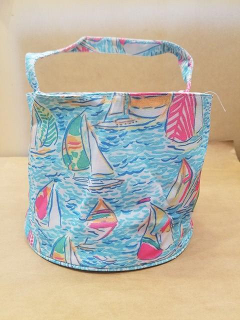 Lily Easter Bucket with a Free Monogram