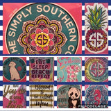 Simply Southern Decals