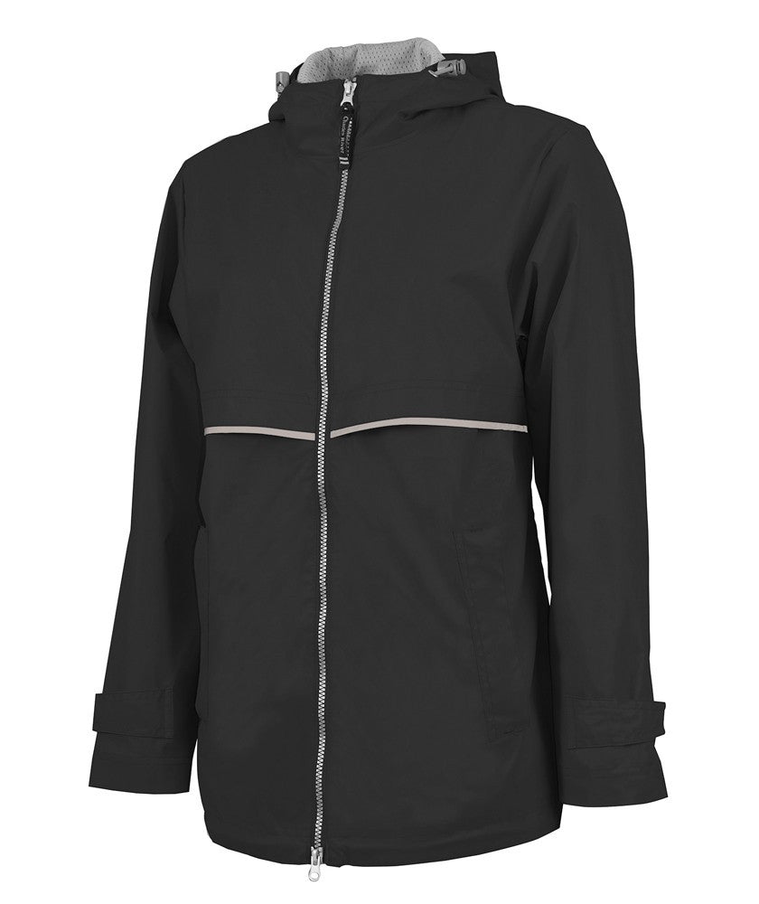 Charles River - New Englander Raincoat - Black