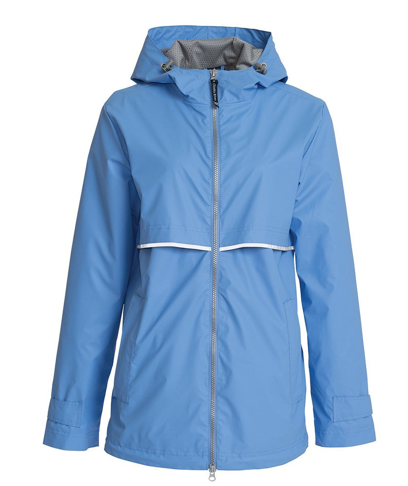 Charles River - New Englander Raincoat - Periwinkle