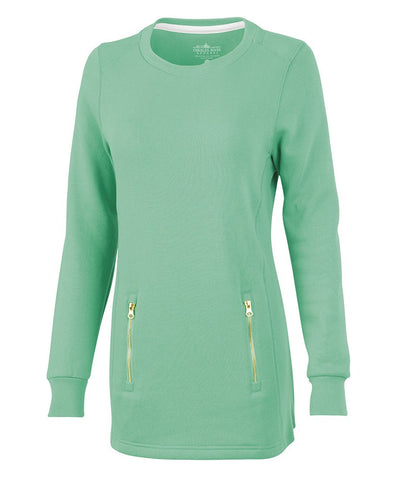Charles River - Women's North Hampton Sweatshirt - Mint