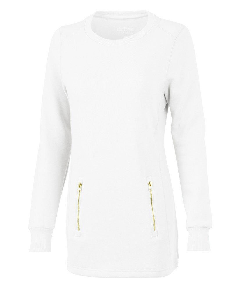 Charles River - Women's North Hampton Sweatshirt - White