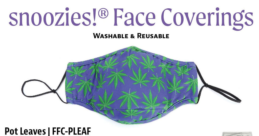 Cloth Face Mask with 4 Filter Inserts - Adult Size