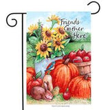 Friends Gather Here - Garden Flag