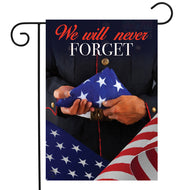 We Will Never Forget - Garden Flag