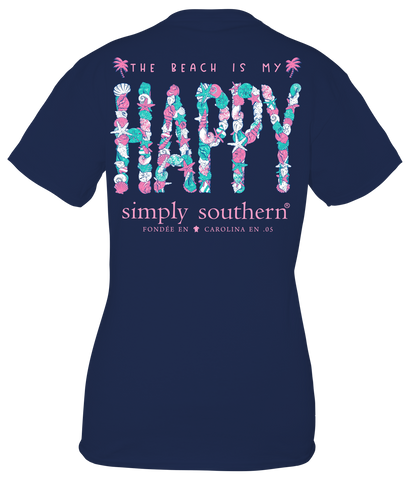The Beach is My Happy - S20 - SS - YOUTH T-Shirt