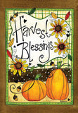 Harvest Blessings - Garden Flag