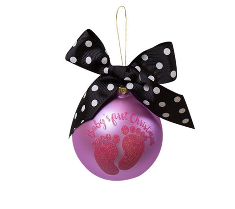 Baby Girl - Christmas Ornament