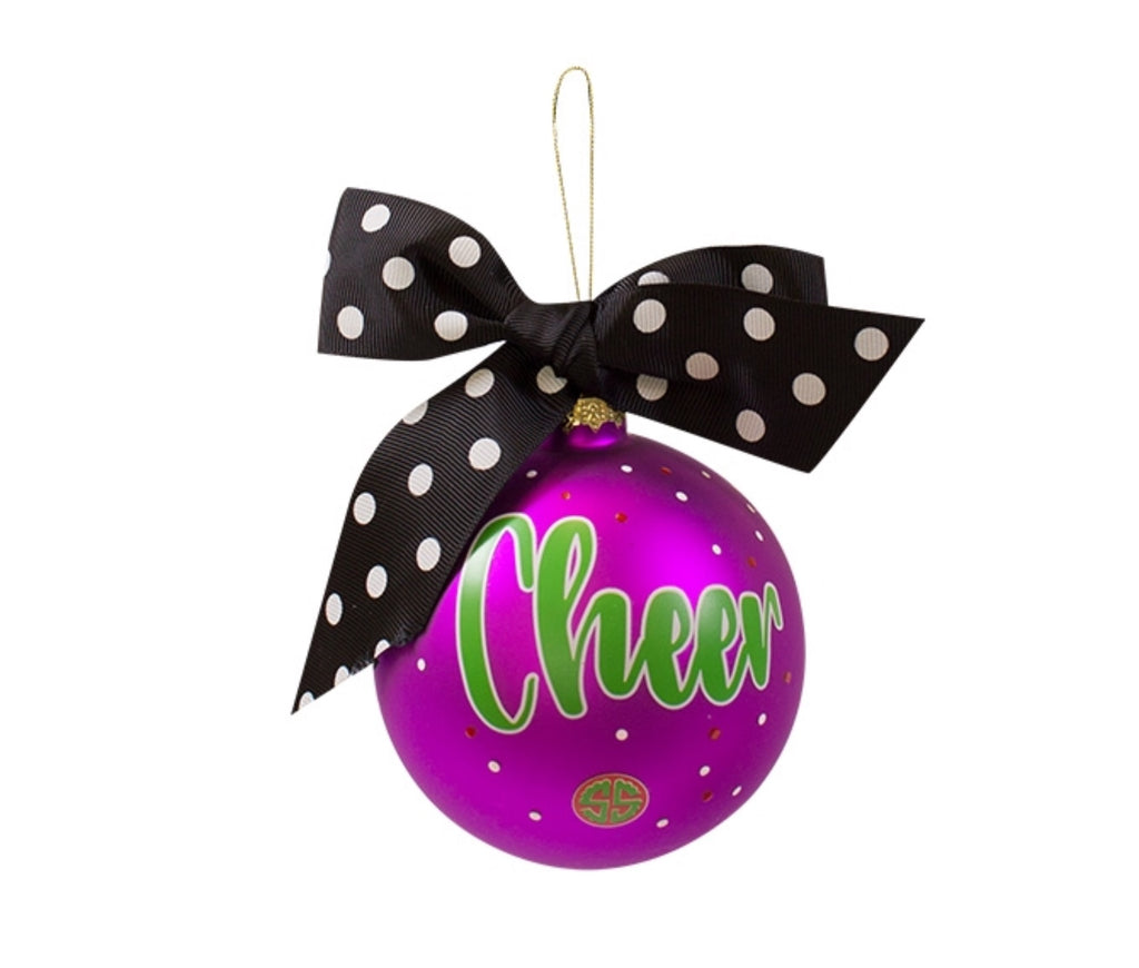 Cheer - Christmas Ornament