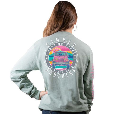 No Road No Problem - Jeep - SS - F20 - Adult Long Sleeve