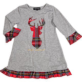 Deer Youth Dress - Simply Southern
