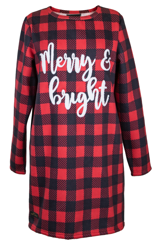 Merry & Bright - Warmy Dress - S20 - Simply Southern