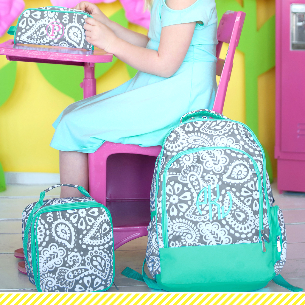Paisley Parker Backpack Set