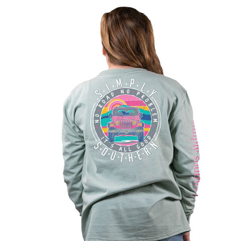 No Road No Problem - Jeep - SS - F20 - YOUTH Long Sleeve