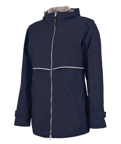 Charles River - New Englander Raincoat - Navy