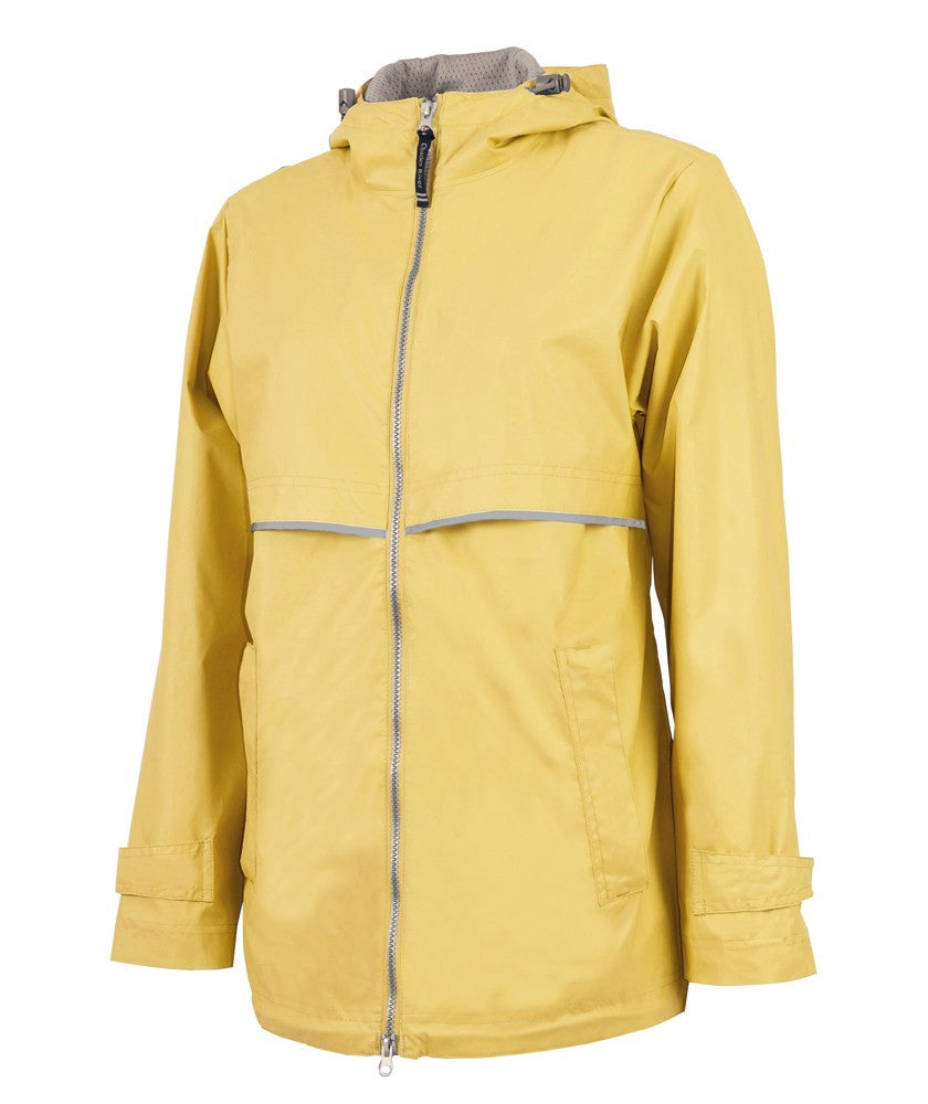 Charles River - New Englander Raincoat - Buttercup