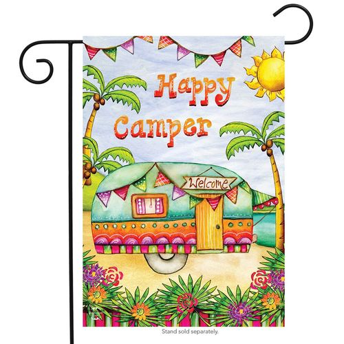 Tropical Camper - Garden Flag
