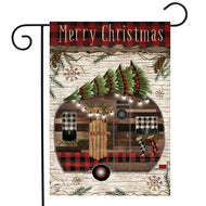 Merry Christmas Camper - Garden Flag