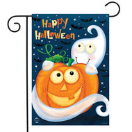 Halloween Haunts Ghost - Garden Flag