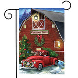 Christmas Tree Farm - Garden Flag
