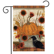 Primitive Pumpkins - Garden Flag