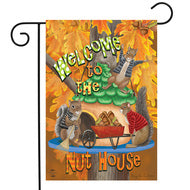 Welcome Fall Nuthouse - Garden Flag
