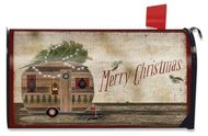 Merry Christmas Camper - Mailbox Cover