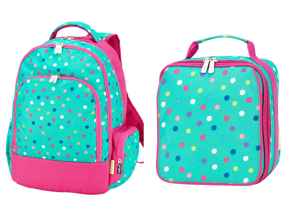 Lottie Polka Dots Backpack Set
