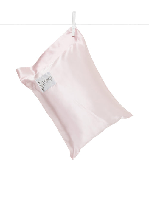 Satin Nap Pillow Pink