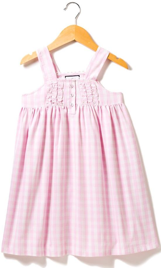 Pink Gingham Charlotte Nightgown