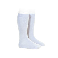 Light Blue Knee Socks - Born Childrens Boutique