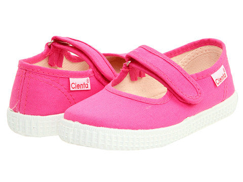 Cienta Kids Mary Jane Fuchsia