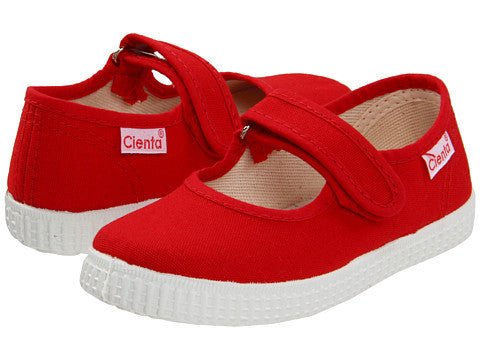 Cienta Kids Mary Jane Red
