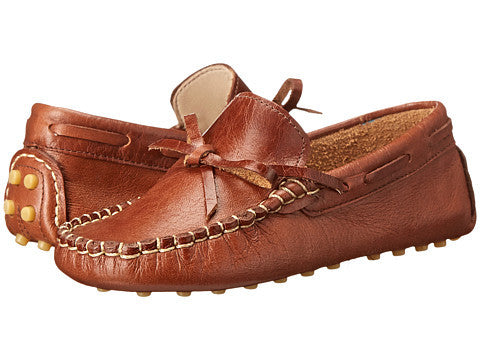Elephantito Driving Loafers Brown - Born Childrens Boutique