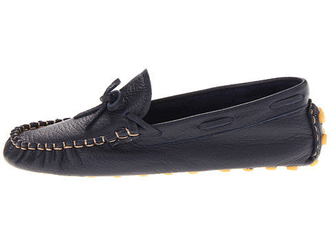 Elephantito Driving Loafers Navy - Born Childrens Boutique