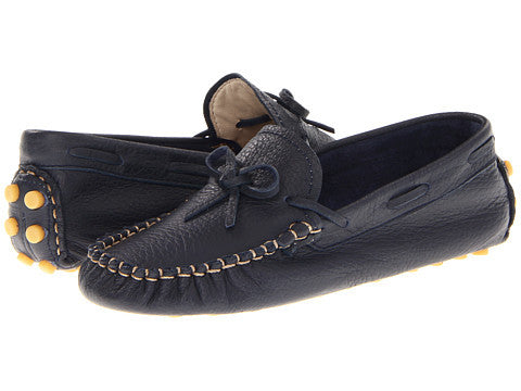 Elephantito Driving Loafers Navy - Born Childrens Boutique  - 1