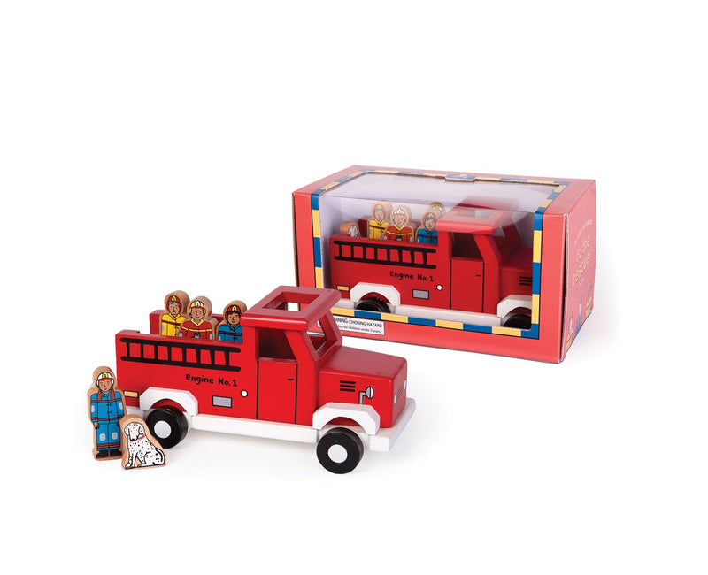 Magnetic Red Firetruck