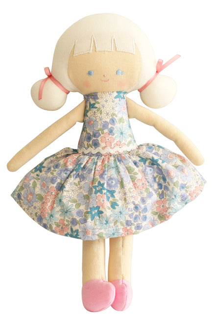 Audrey Doll 26 cm Liberty Blue - Born Childrens Boutique
