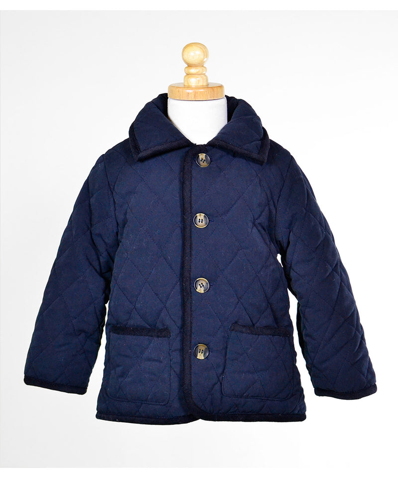 Widgeon Barn Jacket Navy - Born Childrens Boutique